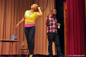 "Krishawn Peace as ""Denicio Barbier"" & Randolph Corian Johnson as ""Philip"" in Presumed Incompetent"