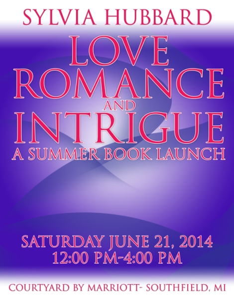 Book Signing Event Flyer-Purple