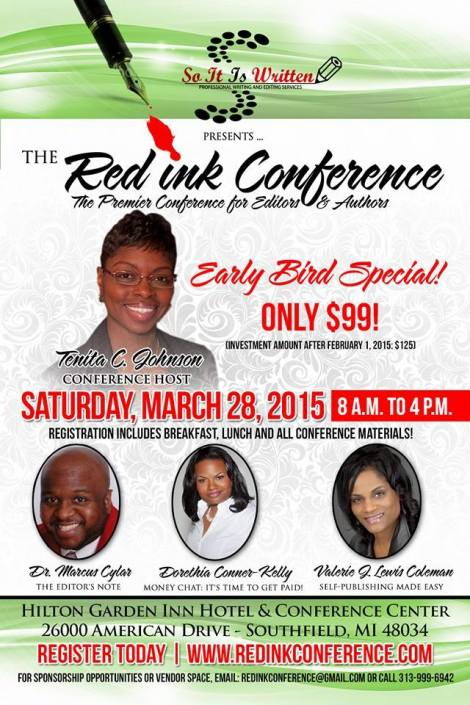 Red Ink Conference Flyer