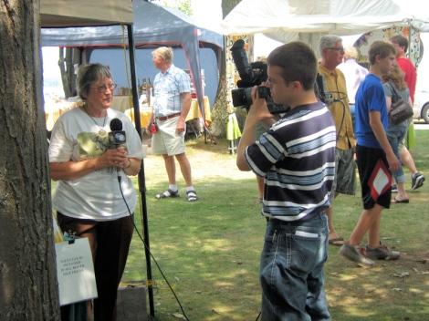 Debbie Frontiera interviewed by WLUC-TV6