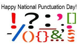 #MotownWriters: Happy National Punctuation Day! Sept 24th