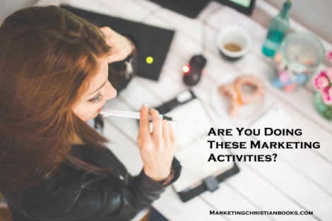 Are you doing these marketing activities?