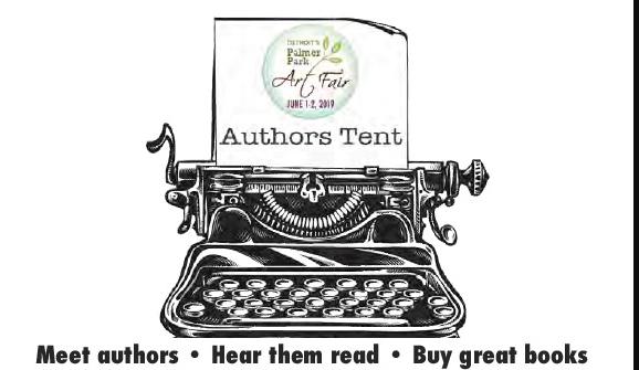 Palmer Park Art Fair authors tent deadline has extended to March 29