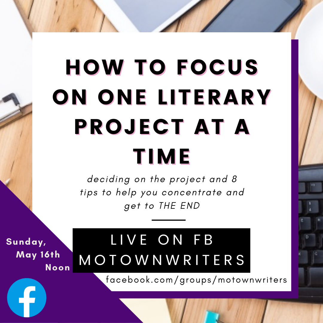 #Learnwithme: How to Focus on one literary 📝project at a time✍🏿 #Motownwriters 📚💜 #writingcommunity